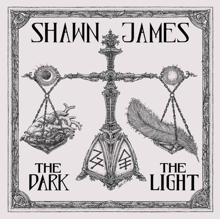 Resultado de imagen de Shawn James - Lp: 'The Dark & The Light'
